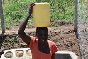 The Water Project: Shamoni Community, Shiundu Spring -  An Easier Trip