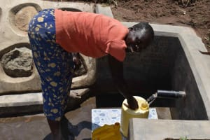 The Water Project: Shamoni Community, Shiundu Spring -  Smiling