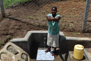 The Water Project: Shamoni Community, Shiundu Spring -  So Much Easier