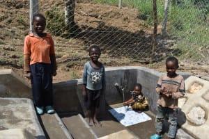 The Water Project: Shamoni Community, Laban Ang'ata Spring -  Big Smiles