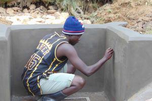 The Water Project: Shamoni Community, Laban Ang'ata Spring -  Inscription