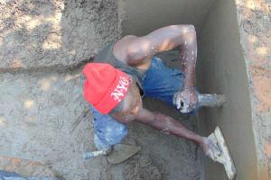 The Water Project: Shamoni Community, Laban Ang'ata Spring -  Messy Work