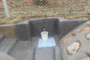 The Water Project: Shamoni Community, Laban Ang'ata Spring -  Complete