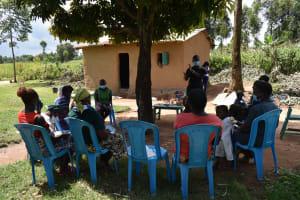 The Water Project: Shamoni Community, Laban Ang'ata Spring -  Contactless Greeting