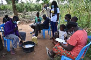 The Water Project: Shamoni Community, Laban Ang'ata Spring -  Fascinating