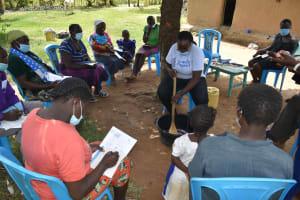 The Water Project: Shamoni Community, Laban Ang'ata Spring -  Soap Making