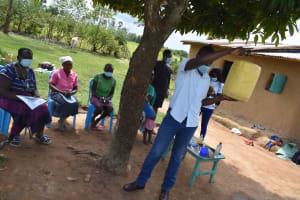 The Water Project: Shamoni Community, Laban Ang'ata Spring -  Water Storage