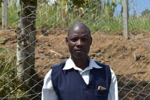 The Water Project: Shamoni Community, Laban Ang'ata Spring -  Alphonce Ndombi