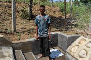 The Water Project: Shamoni Community, Laban Ang'ata Spring -  Francis Shikomere Treasurer