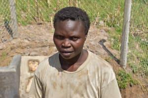 The Water Project: Shamoni Community, Laban Ang'ata Spring -  Melissa Masheti