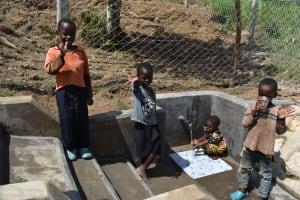 The Water Project: Shamoni Community, Laban Ang'ata Spring -  Adorable