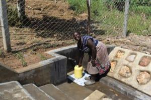 The Water Project: Shamoni Community, Laban Ang'ata Spring -  Smiling