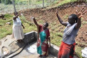 The Water Project: Mundoli Community, Pamela Atieno Spring -  Celebrating Water