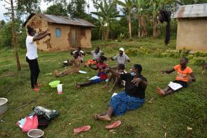 The Water Project: Mundoli Community, Pamela Atieno Spring -  Handwashing Training