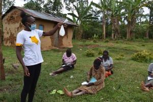 The Water Project: Mundoli Community, Pamela Atieno Spring -  Introducing Soap Reagents