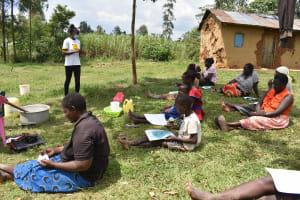 The Water Project: Mundoli Community, Pamela Atieno Spring -  Training In Session