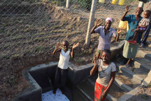The Water Project: Makunga Community, Tabarachi Spring -  Satisfied Customers