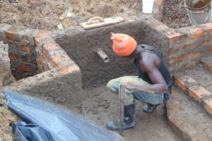 The Water Project: Makunga Community, Tabarachi Spring -  Plaster Works
