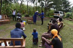 The Water Project: Makunga Community, Tabarachi Spring -  Handwashing