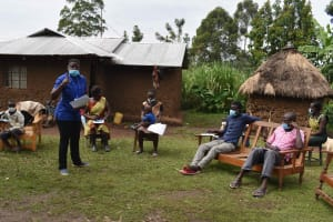 The Water Project: Makunga Community, Tabarachi Spring -  Listening