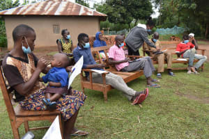 The Water Project: Makunga Community, Tabarachi Spring -  Participants