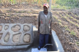The Water Project: Makunga Community, Tabarachi Spring -  Philip At The Spring