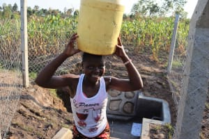 The Water Project: Makunga Community, Tabarachi Spring -  Big Smile
