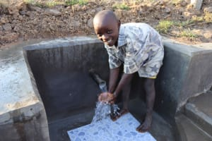 The Water Project: Makunga Community, Tabarachi Spring -  Brian Smiling