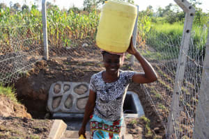 The Water Project: Makunga Community, Tabarachi Spring -  Smiling