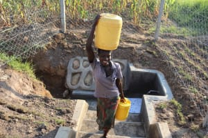 The Water Project: Makunga Community, Tabarachi Spring -  So Much Easier