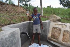 The Water Project: Malimali Community, Onyango Spring -  Omondi At Spring