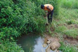 The Water Project: Malimali Community, Onyango Spring -  Excavation