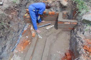 The Water Project: Malimali Community, Onyango Spring -  Getting Taller