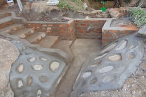 The Water Project: Malimali Community, Onyango Spring -  Almost Done