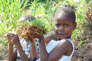 The Water Project: Malimali Community, Onyango Spring -  Planting
