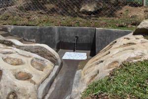 The Water Project: Malimali Community, Onyango Spring -  A Beautiful Sight