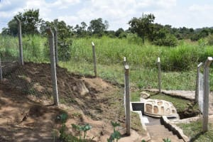 The Water Project: Malimali Community, Onyango Spring -  Completed Waterpoint