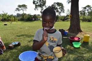 The Water Project: Malimali Community, Onyango Spring -  Terry Learning Dental Care