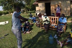 The Water Project: Malimali Community, Onyango Spring -  Handwashing Demo