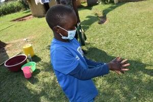 The Water Project: Malimali Community, Onyango Spring -  Handwashing