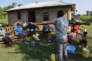 The Water Project: Malimali Community, Onyango Spring -  Physical Distancing