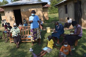The Water Project: Malimali Community, Onyango Spring -  Training Discussion