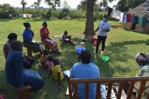 The Water Project: Malimali Community, Onyango Spring -  Training In Progress