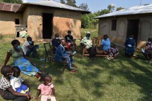 The Water Project: Malimali Community, Onyango Spring -  Training Participants