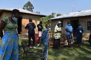 The Water Project: Malimali Community, Onyango Spring -  Training Prayer