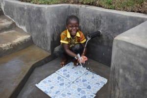 The Water Project: Malimali Community, Onyango Spring -  Terry Playing