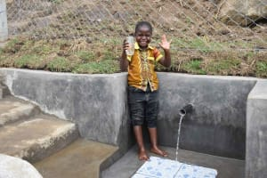 The Water Project: Malimali Community, Onyango Spring -  Terry