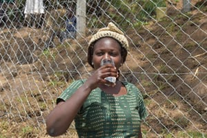 The Water Project: Malimali Community, Onyango Spring -  Gladys Tasting
