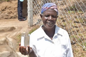 The Water Project: Malimali Community, Onyango Spring -  Robai With Clean Water