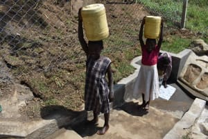 The Water Project: Malimali Community, Onyango Spring -  Satisfied Customers